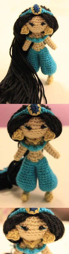 Princess Of The Desert Amigurumi Pattern