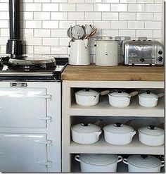 I've always wanted some Le Creuset and now that they've discontinued white, it's going to be a search to find these pieces!!