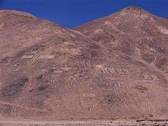 Un museo al aire libre son los geoglifos de Cerros Pintados con más de 1500 años. Aquí info: bit.ly/1zfveEd