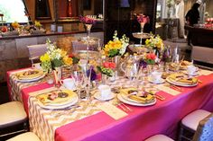 Table design by #RSVPStyle, www.RSVP-Style.com, #BridalShower #AfternoonTea #RSVPStyle #Vintage #Key #Yellow #Pink #Roses #StemsFresno  www.StemsFresno.com