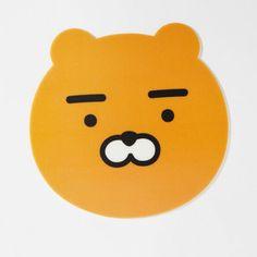 Daum Kakao Friends New Lion Ryan Mouse Pad made Korea 21cmx20.5cm 100% Authentic #DAUMKakaoFriends