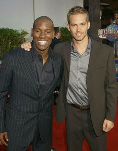 Tyrese Gibson & Paul Walker,RIP