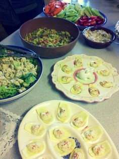 My raw vegan Easter spread with the fam...I'm still dreaming about how tasty it was.
