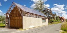 La pureza de una estructura de madera|Espacios en madera