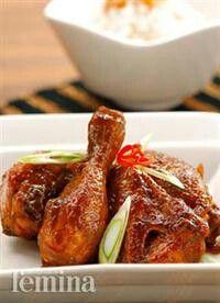 Ayam goreng bumbu petis