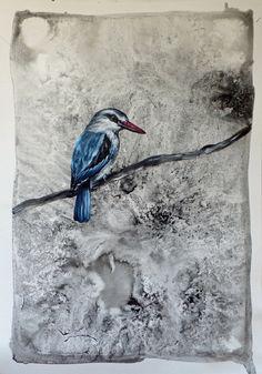 To Sing Sweeter (I) Figurative Art, Paper Art, My Arts, Joy, Birds, Animals, Papercraft, Animales, Animaux