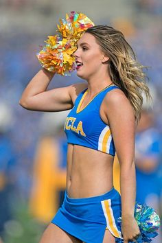 A look back at our 40 favorite cheerleaders from the 2018 college football season. They can cheer for us anytime! RELATED: Best Cheerleaders of Dolphins Cheerleaders, Football Cheerleaders, College Cheerleading, Cheerleading Outfits, Cute Cheer Pictures, College Football Season, Professional Cheerleaders, Beautiful Athletes, Sports Women