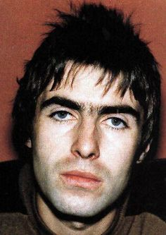 Young Noel Gallagher's hair