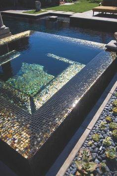 Glass Tile Pool