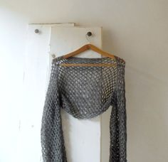 Hey, I found this really awesome Etsy listing at https://www.etsy.com/listing/221324274/grey-crochet-lace-shrug-bolero-alpaca