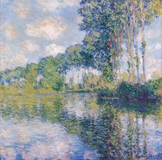 Titulo de la imágen Claude Monet - Poplars on the Epte