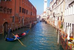 Venice, Italy taking a little trip on the water!