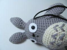 Amigurumi Totoro Receita : Grey totoro revised crochet pattern for the cat bus free patterns