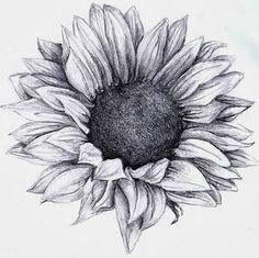 brushstrokes, etc.: Sunflower tattoo Thinking.about doing a sunflower tattoo as a cover. Neue Tattoos, Body Art Tattoos, Cool Tattoos, Tatoos, Sunflower Drawing, Sunflower Tattoos, Watercolor Sunflower Tattoo, Sunflower Tattoo Meaning, Sunflower Sketches