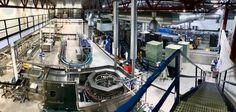 KLART FOR UTSKIFTING: Produksjonen hos Grans Bryggeri vil etter planen flyttes over i et nytt og større bygg etter 2020.