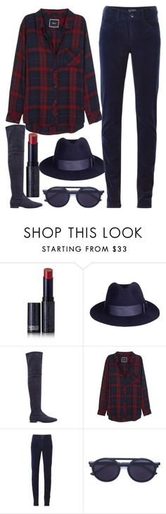 """""""breakfast in brooklyn"""" by j-n-a ❤ liked on Polyvore featuring Lipstick Queen, 3.1 Phillip Lim, Rails, Armani Jeans and Thierry Lasry"""