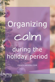 Organizing calm during the holiday period Christmas Home, Christmas Holidays, Family Organizer, Stay Happy, Organizing Your Home, Organization Hacks, Family Life, Homemaking, Self Love