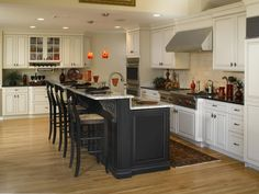30 Trending Kitchen Island Ideas With Seating - HOOMDESIGN - Trending Kitchen Island Ideas With Seating 16 You are in the right place about rolling kitchen islan - Kitchen Island With Seating, Diy Kitchen Island, Kitchen Redo, Home Decor Kitchen, Kitchen Living, New Kitchen, Home Kitchens, Kitchen Cabinets, Raised Kitchen Island