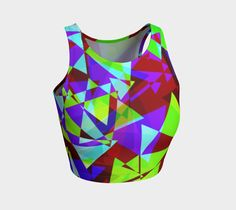 Have you seen this? Psychedelic Geome... What are you waiting for? http://ocdesignzz.myshopify.com/products/psychedelic-geometric-pattern-athletic-crop-tank-top?utm_campaign=social_autopilot&utm_source=pin&utm_medium=pin