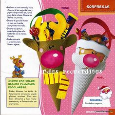 revistas de manualidades gratis Christmas Crafts For Kids, Christmas Wrapping, Christmas Tag, Christmas And New Year, Christmas Decorations, Xmas, Diy And Crafts, Paper Crafts, Holiday Time