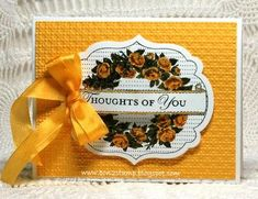 Apothecary Art Yellow by bon2stamp - Cards and Paper Crafts at Splitcoaststampers
