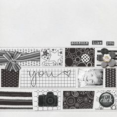 Addicted to Paper - Black and White :: Papers :: Memory Scraps