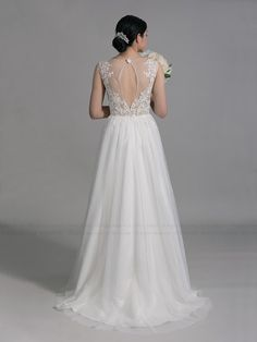 Lace wedding dress wedding dress bridal gown by ELDesignStudio