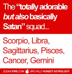 The totally adorable but also basically Satan squad.  Gemini