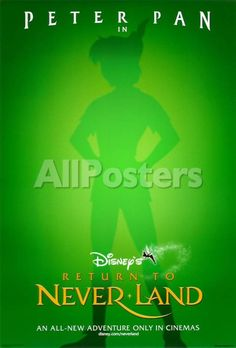 Return to Neverland Movies Double-sided poster - 69 x 102 cm