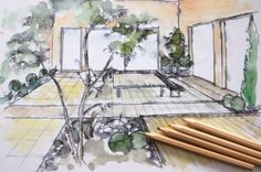 Gartenplanung und Landschaftsplanung DI Dr. Agnes Fedl Planer, Garden Architecture, Landscape Architecture, Indoor Courtyard, Landscape Diagram