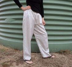 No waste gusseted trousers