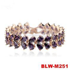 High quality fashion hot sale romantic modena zircon charm bracelet