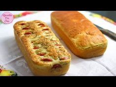 PAO CASEIRO DE LIQUIDIFICADOR MAIS FÁCIL DO MUNDO | RECEITAS DA CRIS - YouTube Red Rice Recipe, Pasta, Chocolate, Rice Recipes, Hot Dog Buns, Mousse, Banana Bread, Food And Drink, Low Carb