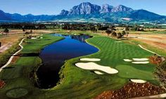 Pearl Valley Golf Course, Western Cape South Africa