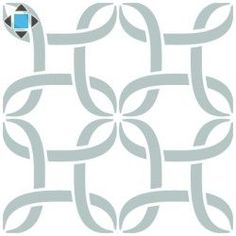 Stencil Pared Geometrico 022 Lazos