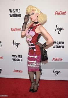 Violet Chachki attends RuPaul's Drag Race Season 7 Finale, Courtesy Logo / WOW, at the Orpheum Theatre on May 19, 2015 in Los…
