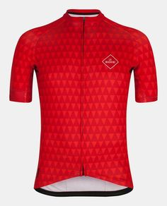 La Flamme Rouge: A stylish cycling jersey inspired by the little red, triangular flag that marks the last kilometer of the race. The point that the race comes to an apotheosis. The point from where...
