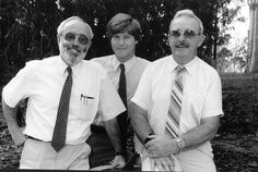 (From left to right) Phillip Greentree, David Cater and Bede Jordan - played a vital role in rescue operations in the recent Newcastle earthquake. Bulletin - The University of Newcastle 1990 | Flickr - Photo Sharing!