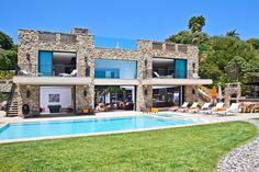 Multi-Million Dolar Italian Style House on Malibu Beach  www.caandesign.com