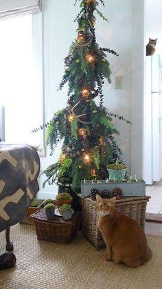 christmas woodland theme | Found on anurbancottage.blogspot.com