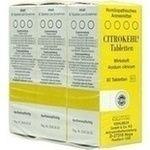 CITROKEHL Tabletten:   Packungsinhalt: 3X80 St Tabletten PZN: 00733139 Hersteller: SANUM-KEHLBECK GmbH & Co. KG Preis: 24,50 EUR inkl. 19…