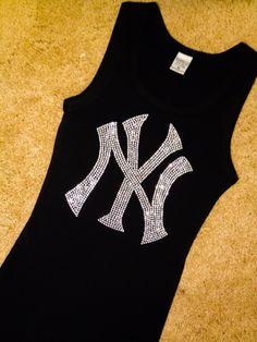 New York Yankees Baseball Rhinestone EMMAS TEAM