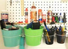 Use Zip Ties to Organize Tie Storage, Pegboard Storage, Storage Ideas, Tie Organization, Organizing, Handyman Projects, Nylon Flowers, Diy Workbench, Repurposed Items