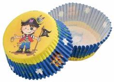 Formičky na muffiny a cupcakes 50ks č. Muf-59 pirát