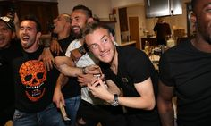 'Champions!' Leicester City players celebrate Premier League win – video