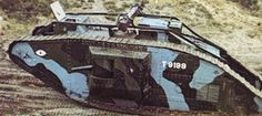 Tanks and World War One