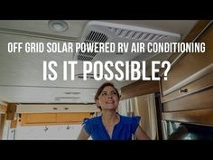 We installed some serious Off-the-Grid technology and we're wondering if we'll be able to run our RV air conditioner off our solar set up. Lets find out!