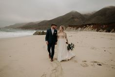 Big Sur Elopement. The best of both worlds, with the crashing waves and sea breeze then minutes away from redwoods in the forest! The most romantic place for your adventure photo session. Big Sur California, California Wedding, Glen Oaks, Man And Wife, Most Romantic Places, Adventure Photos, Beach Elopement, Crashing Waves, Photo Sessions