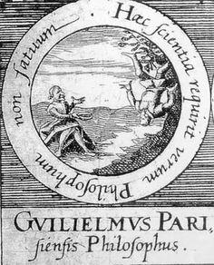 ALQUIMIA VERDADERA: Emblema 69. Guillermo de París, filósofo. Este conocimiento exige un filósofo verdadero, no un estúpido.