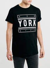 BLACK NY T-SHIRT